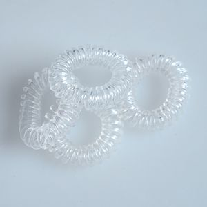 Set 4 elastice transparente