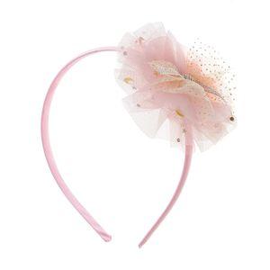 Bentita roz cu pompon