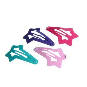Set4 clame de par multicolore