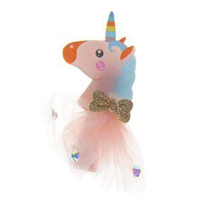 Agrafa de par model unicorn cu tutu