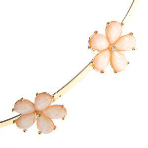 Bentita aurie cu 5 flori