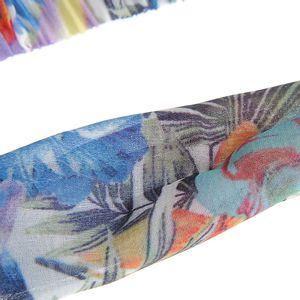 Bentita elastica cu print exotic