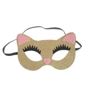Masca de copii forma pisica
