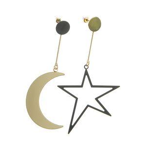 Cercei stea si luna