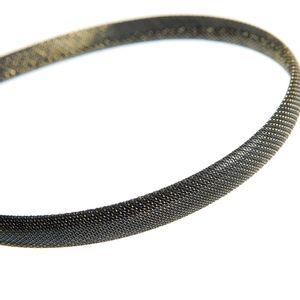 Bentita neagra cu insertii aurii