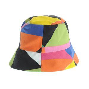 Palarie multicolora din bumbac
