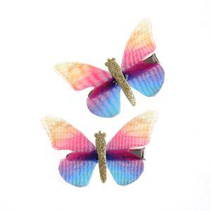 Set 2 agrefe cu fluturi