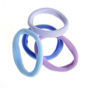 Set 4 elastice in nuante albastre