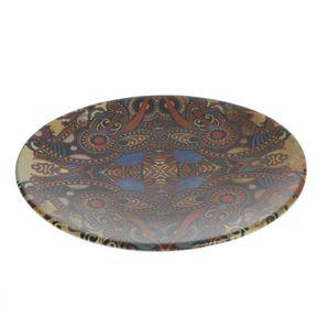 Farfurie ovala cu model mandala 21 cm
