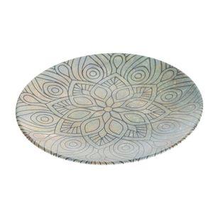 Farfurie rotunda cu model mandala 20 cm