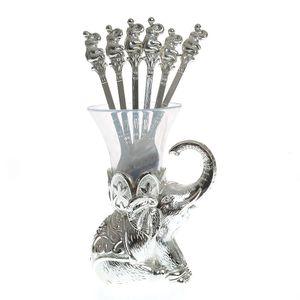 Suport pentru linguri forma elefant