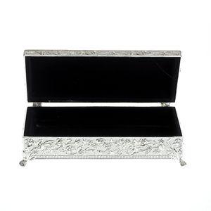 Cutie de bijuterii argintata