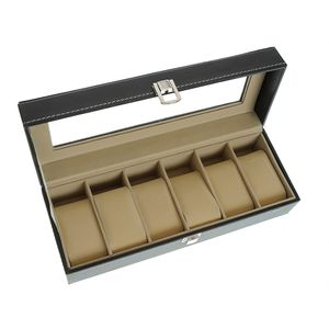 Cutie neagra pentru ceasuri 30x11 cm