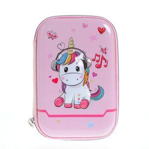 Penar roz cu  design unicorn