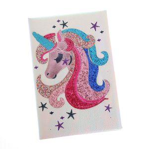Agenda cu unicorn si stelute