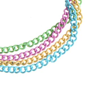 Bratara metalica multicolora