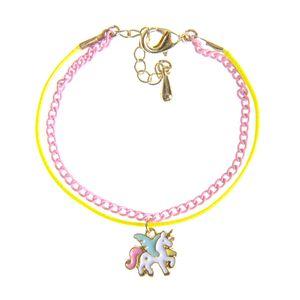 Bratara pentru copii cu pandantiv unicorn