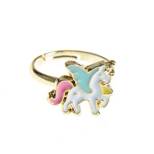 Inel reglabil cu unicorn