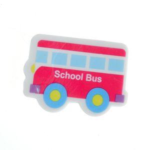 Radiera forma de autobuz