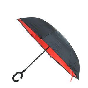 Umbrela neagra cu 2 fete