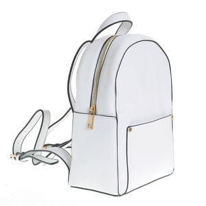 Rucsac alb cu portofel detasabil