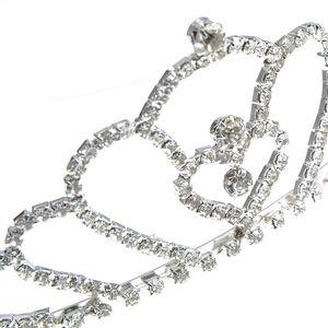 Diadema argintie mireasa