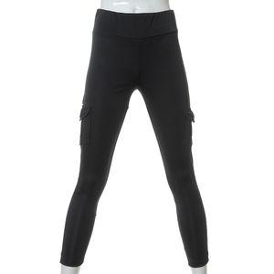 Pantaloni cargo cu talie inalta