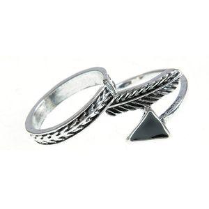 Set 2 inele argintii