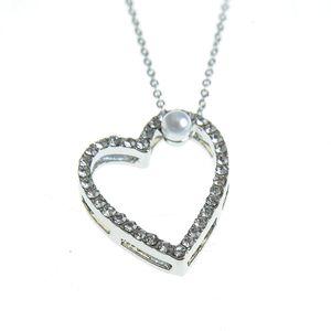 Colier romantic cu pandantiv inima