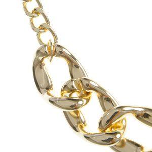 Colier auriu cu zale mari