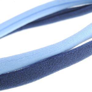 Set 2 bentite elastice in nuante albastre