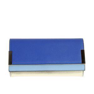 Portofel elegant cu nuante albastre